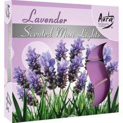 Bispol Scented Maxilights podgrzewacze zapachowe typu maxi 59 mm ~ 10 h 4 szt - Lavender