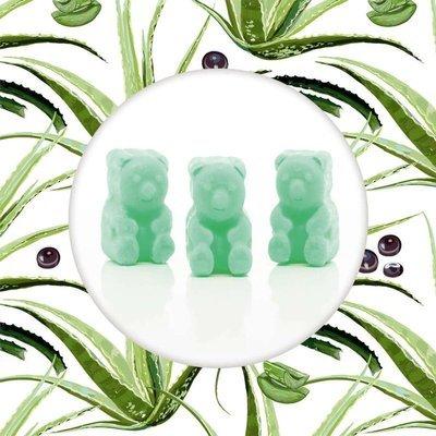 Ted & Friends soy wax melts bears 50 g - Acai Palm & Aloe
