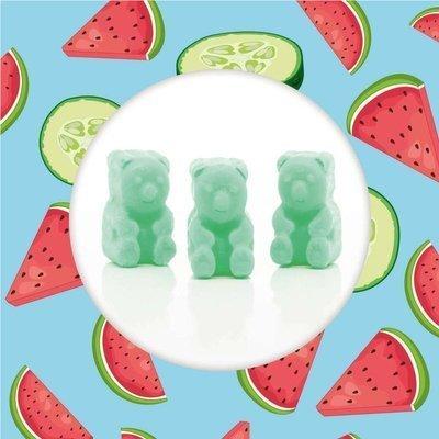 Ted & Friends soy wax melts bears 50 g - Cucumber & Melon