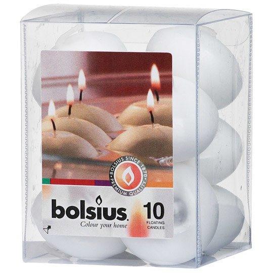 Bolsius Floating Candles świece pływające na wodę 30/45 mm 10 szt - Sand