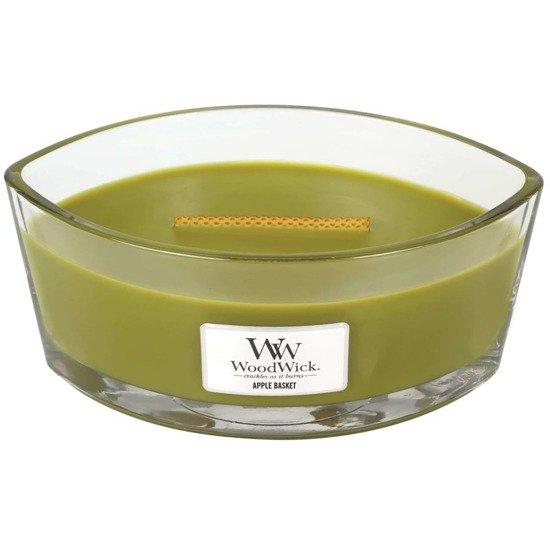 WoodWick Core Heartwick Candle świeca zapachowa sojowa w szkle łódka ~ 60 h - Apple Basket