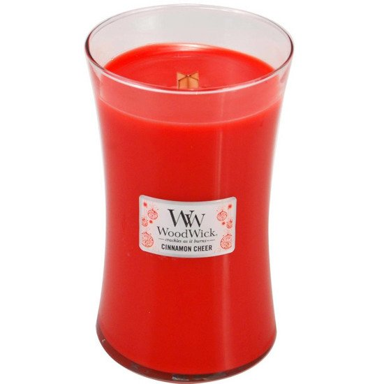 WoodWick Core Large Candle świeca zapachowa sojowa w szkle ~ 175 h - Cinnamon Cheer