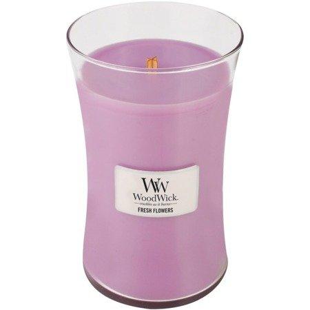 WoodWick Core Large Candle świeca zapachowa sojowa w szkle ~ 175 h - Fresh Flowers