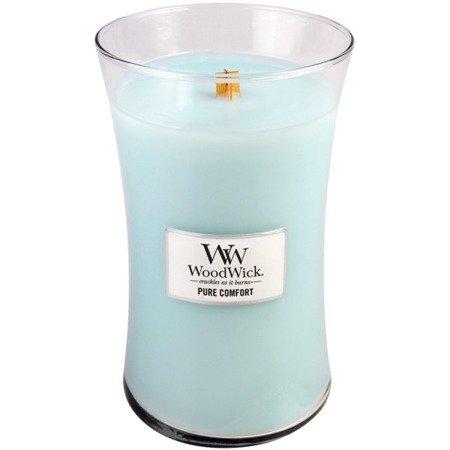 WoodWick Core Large Candle świeca zapachowa sojowa w szkle ~ 175 h - Pure Comfort